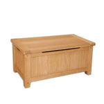 Natural Oak Blanket Box/Ottoman