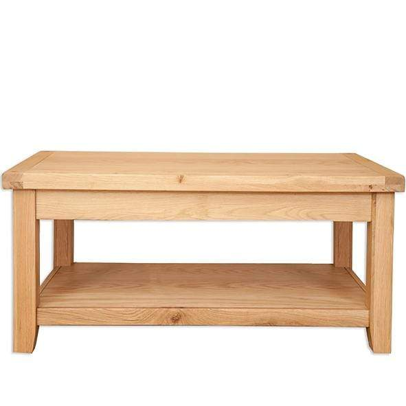 Natural Oak Coffee Table