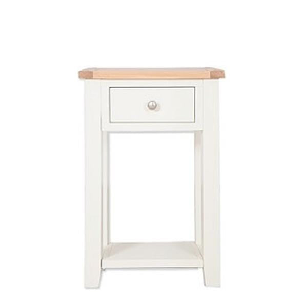 Ivory Charm Console Table with 1 Drawer