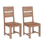 Pair of Oslo Wooden Dining Chairs