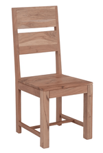 The Furniture House Dining Chair Pair of Oslo Wooden Dining Chairs
