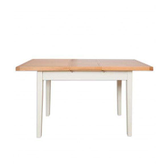 The Furniture House dining table Ivory Charm Dining Table Extending 1.2m/1.6m