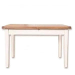 Ivory Charm Dining Table Extending 1.2m/1.6m