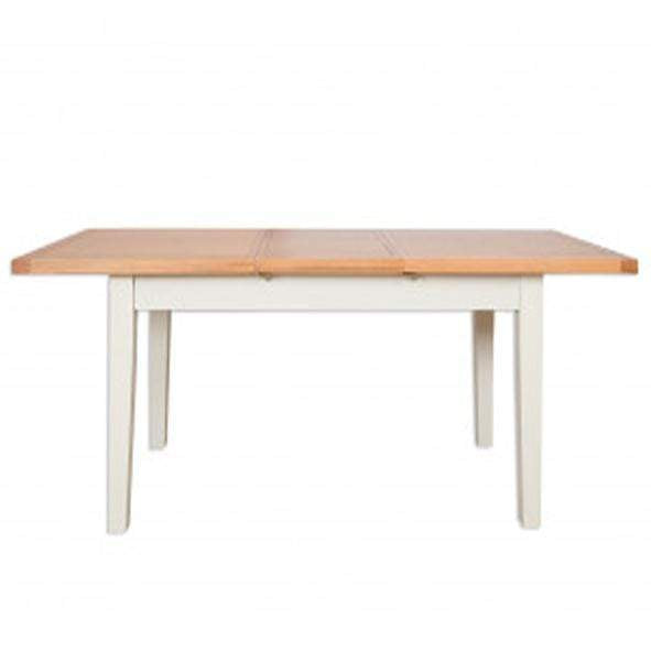 The Furniture House dining table Ivory Charm Dining Table Extending 1.6m/2.1m
