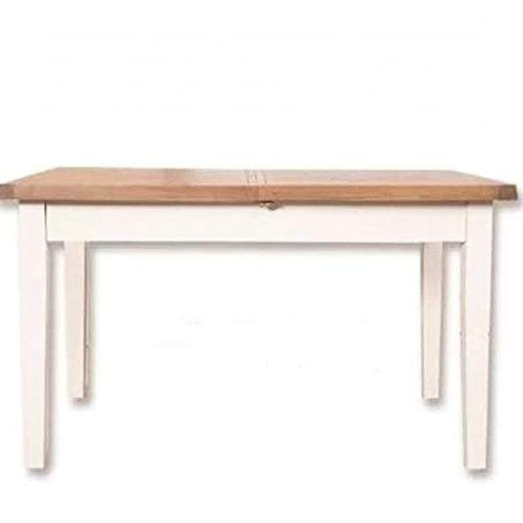 Ivory Charm Dining Table Extending 1.6m/2.1m