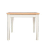 Ivory Charm Square Dining Table - 90cm