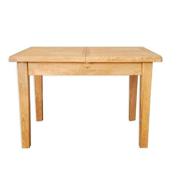 Natural Oak Extending Dining Table - 1.2m/1.6m