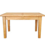 The Furniture House dining table Natural Oak Extending Dining Table - 1.6m/2.1m