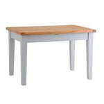 Rustic Grey Dining Table  Extending  1.2m/1.6m