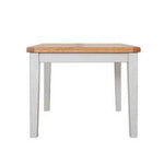 Rustic Grey Square Dining Table - 90cm