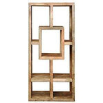 Mango Wood Rectangle Display Unit