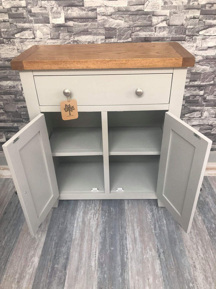 The Furniture House Hall cabinet Rustic Grey Hall Cabinet