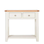 Ivory Charm Console Table with 2 Drawers