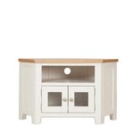 Copy of Ivory Charm Glazed Corner TV Unit