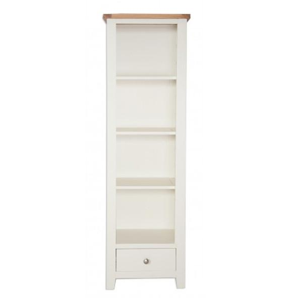 The Furniture House Ivory Charm Slim Bookcase Ivory Charm Slim Bookcase