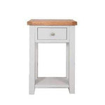 The Furniture House - King's Lynn console table Rustic Grey Console Table with 1 Drawer