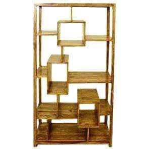 Mango Wood Large Display Cabinet