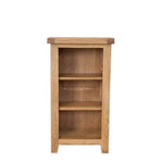 Rustic Oak Small Bookcase or DVD Rack
