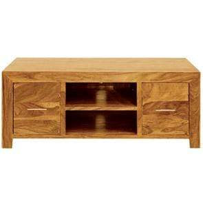 The Furniture House Mango Wood Plasma TV Cabinet Mango Wood Plasma TV Unit