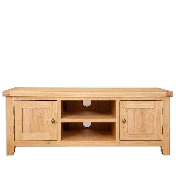 Natural Oak Plasma TV Unit