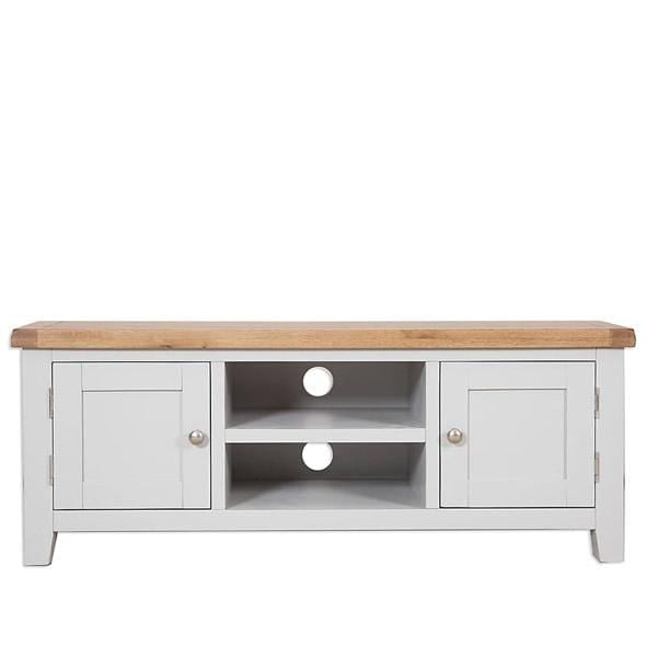 Rustic Grey Plasma Tv Unit