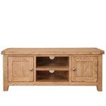 The Furniture House tv unit Rustic Oak Plasma TV Unit