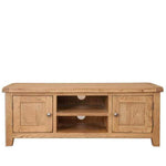 Rustic Oak Plasma TV Unit