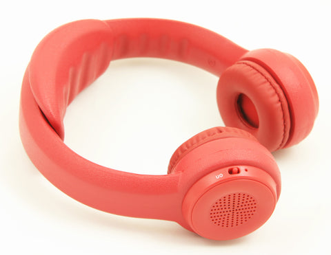 Headfoams Bluetooth Headphones - Red