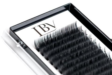 B Curl Russian Volume Faux Mink Eyelash Extensions