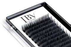 B Curl Russian Volume Faux Mink Eyelashes