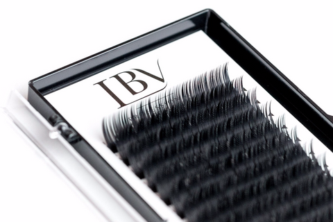 5D Prefanned Long Root Eyelashes