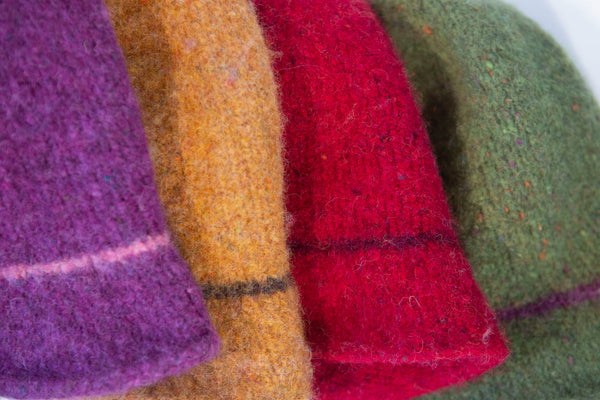 Made 4 U Knitwear - Classic Felted Hat Collection
