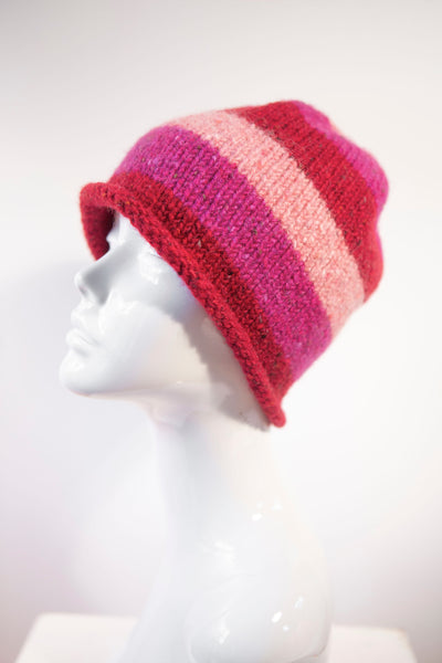 Made 4 U Knitwear Design - Striped Knitted Hat Collection