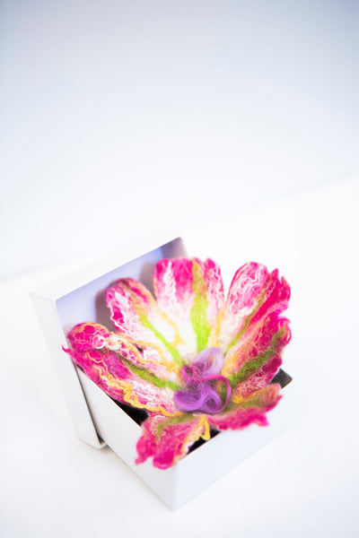Jayne Gillan Design - Felted Flower Brooch