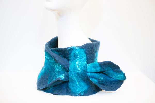 Jayne Gillan Design: Felt Wearables- Valentia Collar Collection