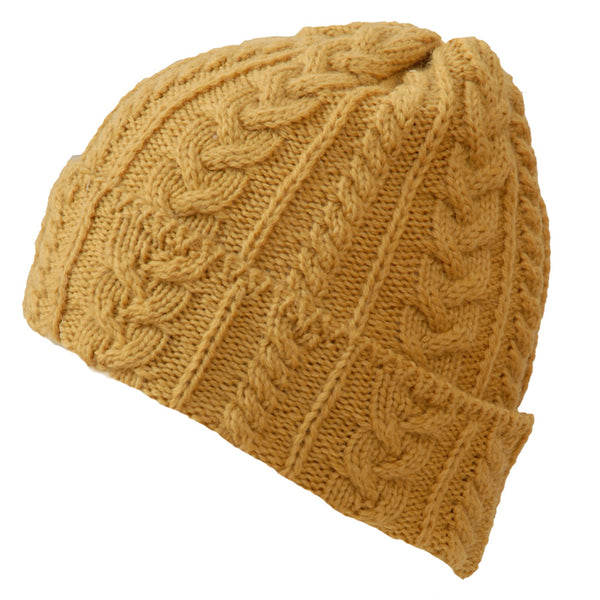 Kerry Woollen Mills - Cable Aran Knit Hats Collection
