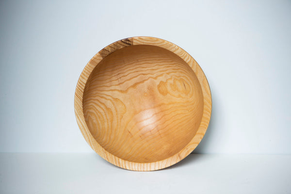 David Condon Wood Turner - Ash Wood Bowl Small
