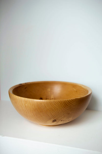 David Condon Wood Turner- Ash Wood Bowl Medium