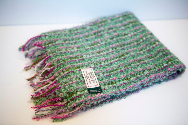 Mucros Weavers - Mohair and Viscose Scarf Collection