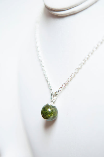Breeda Hughes Jewellery - Moss Resin Pendant