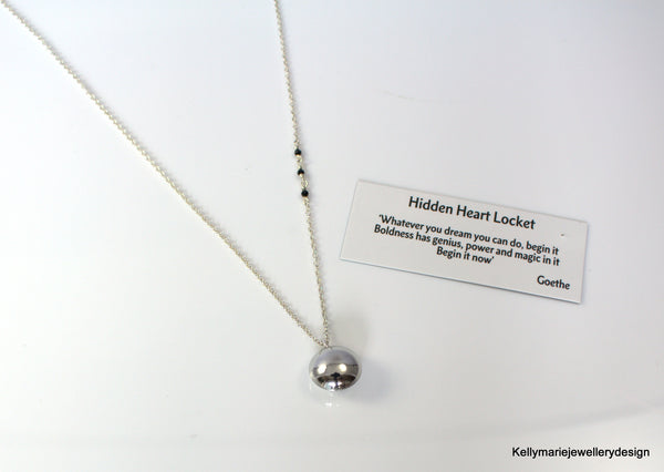 Kelly Marie Jewellery Design - Hidden Heart Locket