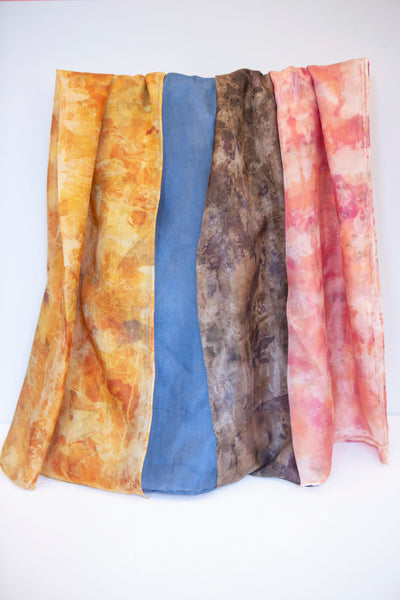 Úna Ní Shé - Pure Silk Scarf Collection