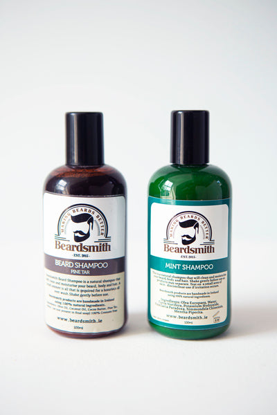 Beardsmith - Shampoo Bottle Collection