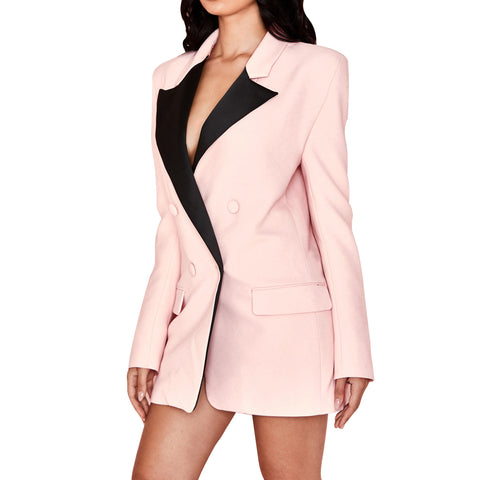 lovefreya pink power suit for ladies suit dress