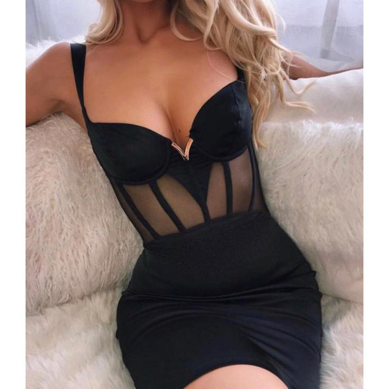 Belle bandage dress Dress LOVEFREYA