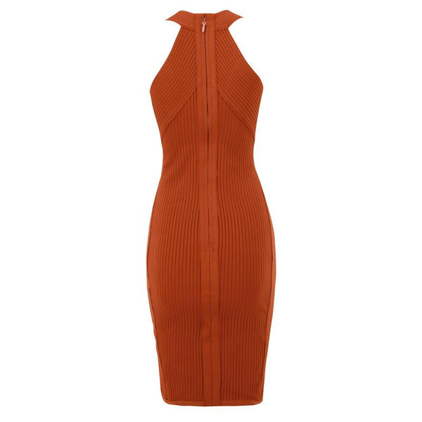 Blake V-neck Bandage Dress Lovefreya.co