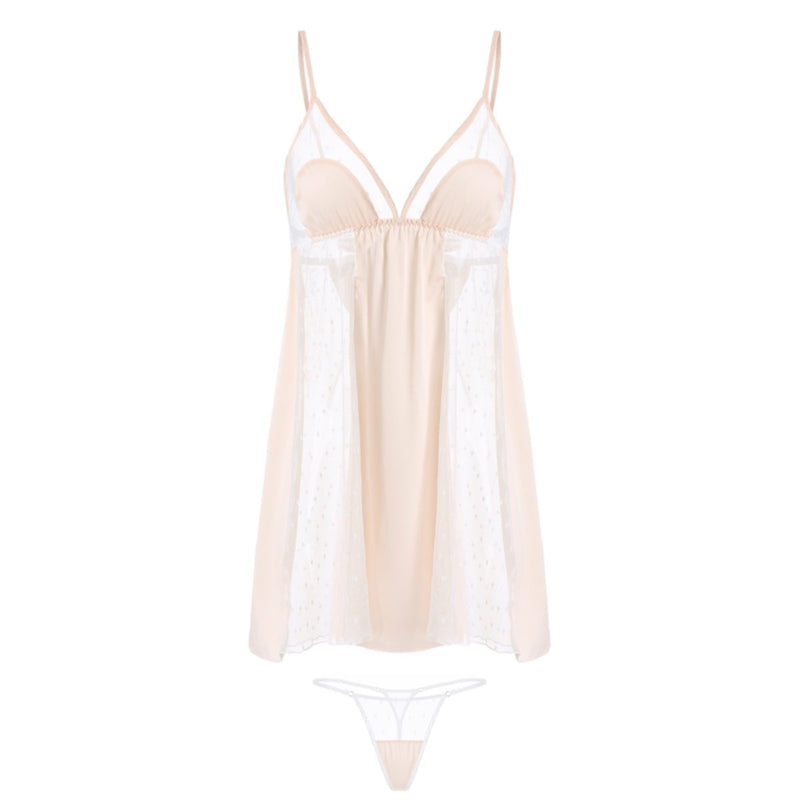 Brenica satin slip set Intimates LOVEFREYA