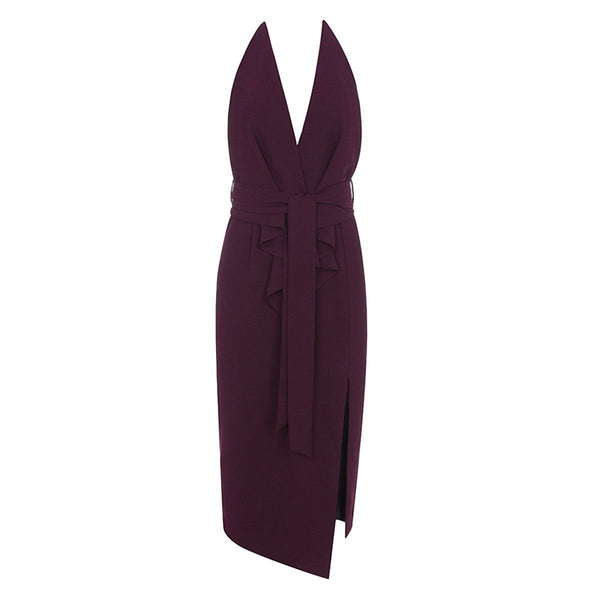 Brooklyn halter dress Dress Lovefreya Pte Ltd