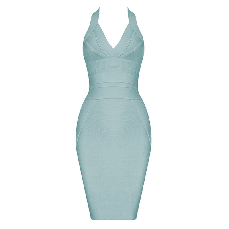 Cass halter bandage Dress Lovefreya.co XS Mint