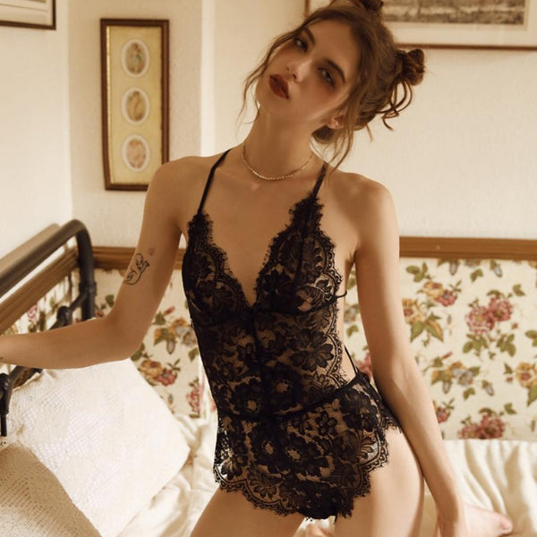 Dacey teddysuit Intimates Lovefreya Pte Ltd Black